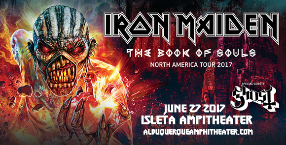 Iron Maiden & Ghost at Isleta Amphitheater