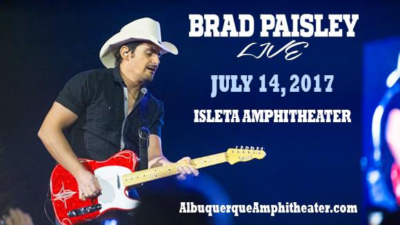 Brad Paisley, Dustin Lynch, Chase Bryant & Lindsay Ell at Isleta Amphitheater