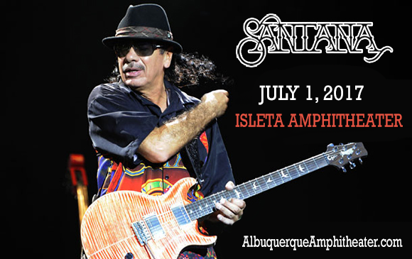 Santana at Isleta Amphitheater