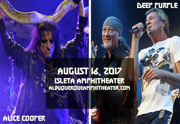 Deep Purple & Alice Cooper at Isleta Amphitheater