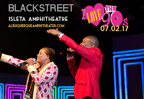I Love The 90s: Blackstreet, Naughty By Nature, Coolio, Mark McGrath & Color Me Badd at Isleta Amphitheater