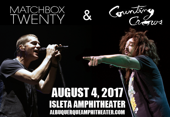 Counting Crows & Matchbox Twenty at Isleta Amphitheater