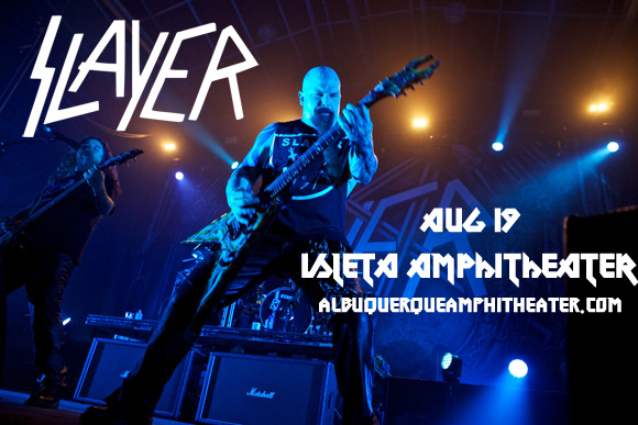 Slayer, Lamb of God & Behemoth at Isleta Amphitheater