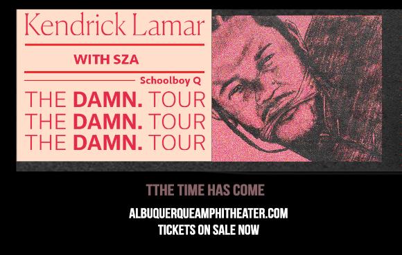 Kendrick Lamar, SZA & Schoolboy Q at Isleta Amphitheater