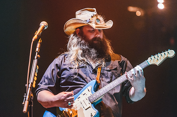 Chris Stapleton, Marty Stuart & Brent Cobb at Isleta Amphitheater