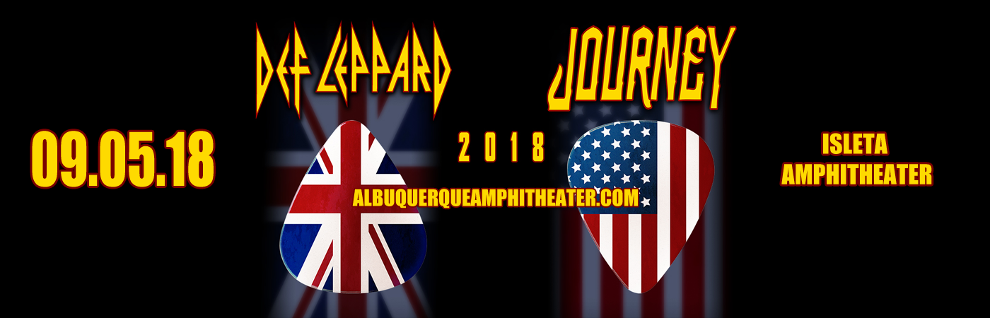 Journey & Def Leppard at Isleta Amphitheater