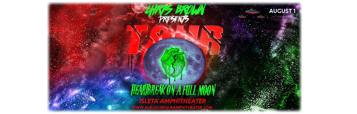 Chris Brown at Isleta Amphitheater