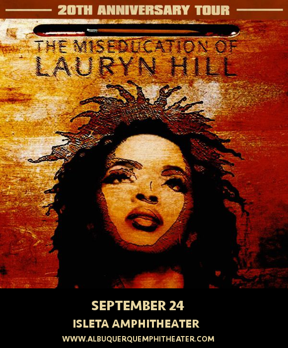 Lauryn Hill at Isleta Amphitheater
