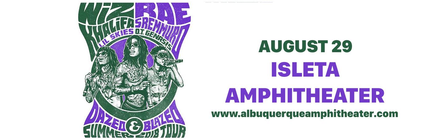 Wiz Khalifa & Rae Sremmurd at Isleta Amphitheater