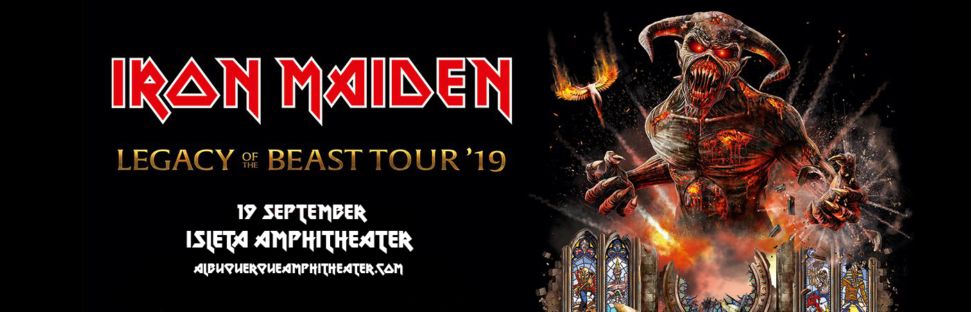 Iron Maiden at Isleta Amphitheater