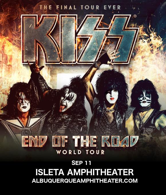 Kiss at Isleta Amphitheater