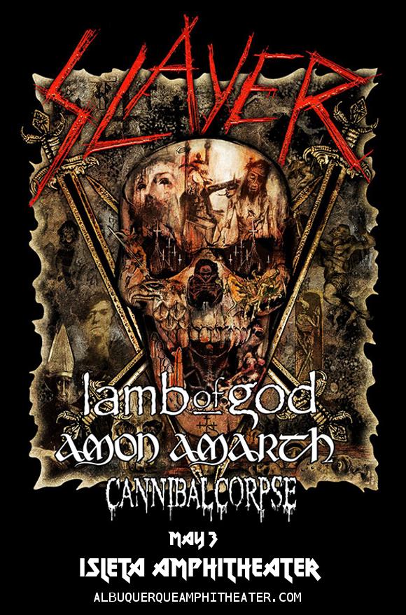 Slayer at Isleta Amphitheater