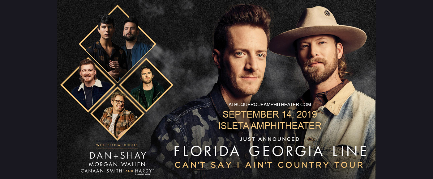 Florida Georgia Line, Dan and Shay & Morgan Wallen at Isleta Amphitheater