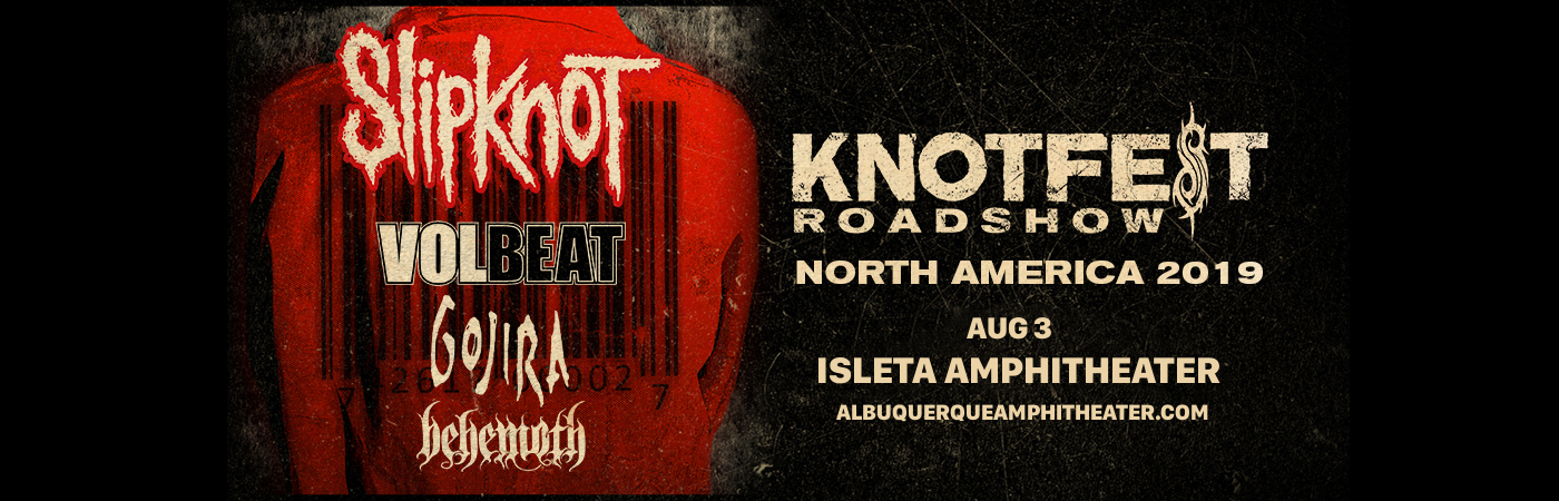Slipknot, Volbeat, Gojira & Behemoth at Isleta Amphitheater