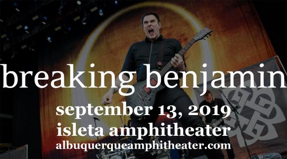 Breaking Benjamin at Isleta Amphitheater