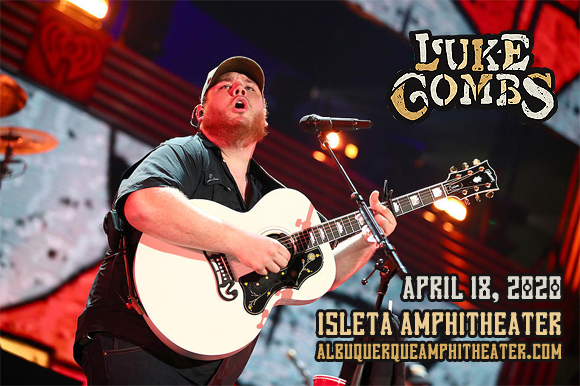 Luke Combs at Isleta Amphitheater