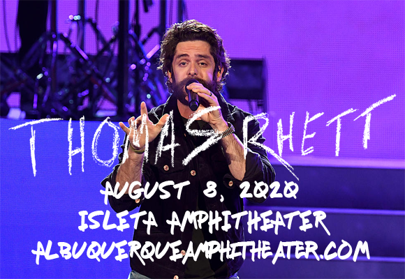 Thomas Rhett & Cole Swindell at Isleta Amphitheater