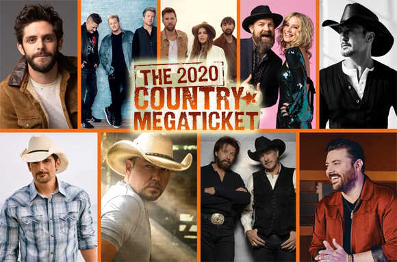 Country Megaticket (Includes Tickets To All Performances) at Isleta Amphitheater