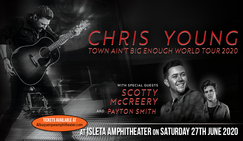 Chris Young, Scotty McCreery & Payton Smith at Isleta Amphitheater