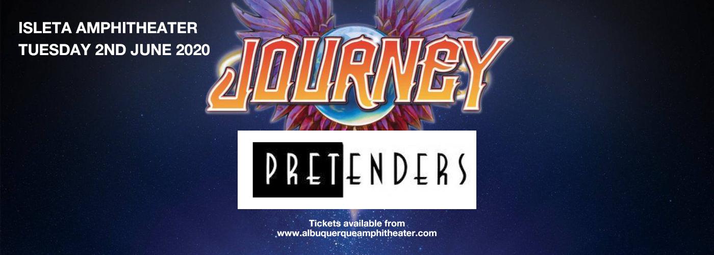 Journey & The Pretenders at Isleta Amphitheater