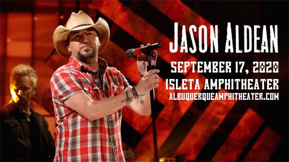 Jason Aldean, Brett Young, Mitchell Tenpenny & Dee Jay Silver at Isleta Amphitheater