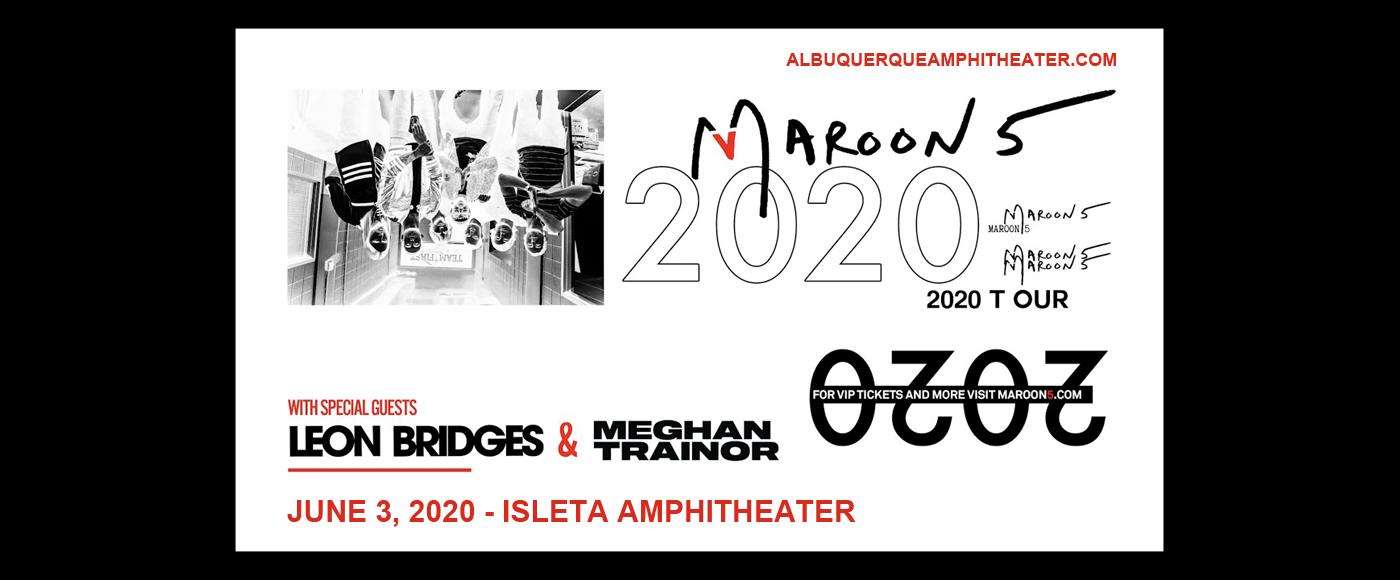 Maroon 5 & Meghan Trainor at Isleta Amphitheater
