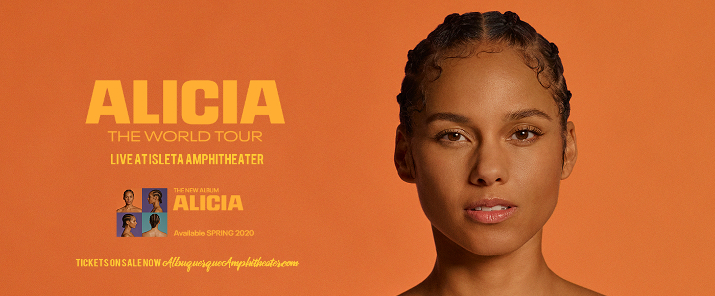 Alicia Keys [POSTPONED] at Isleta Amphitheater