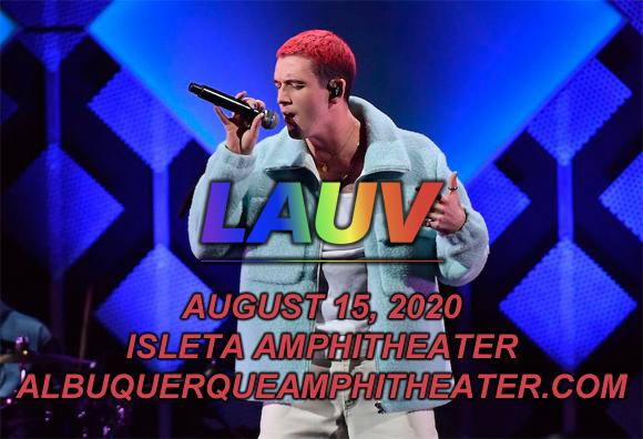 Lauv at Isleta Amphitheater