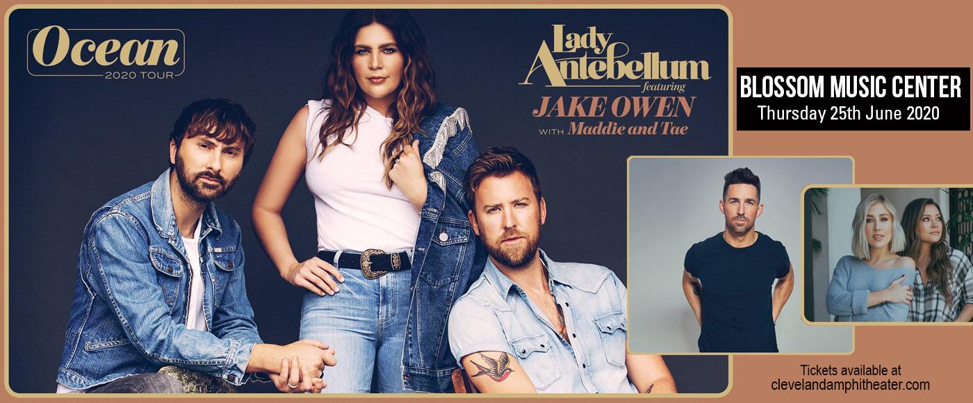 Lady Antebellum, Jake Owen & Maddie and Tae [CANCELLED] at Isleta Amphitheater