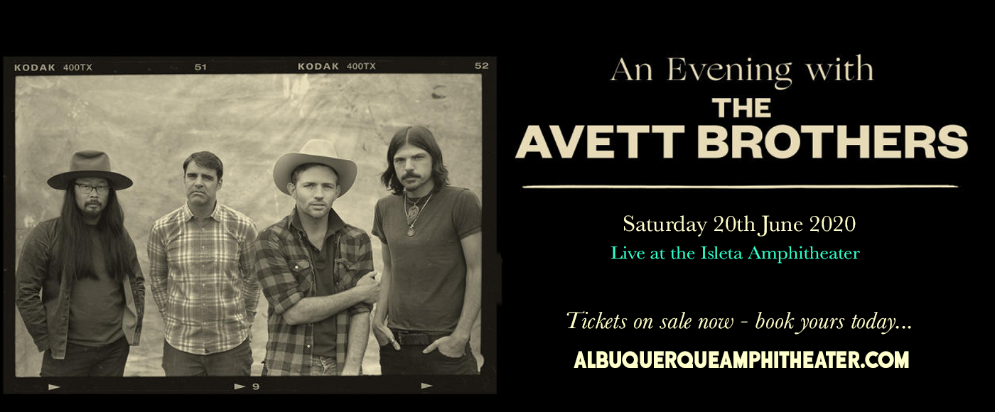The Avett Brothers [CANCELLED] at Isleta Amphitheater