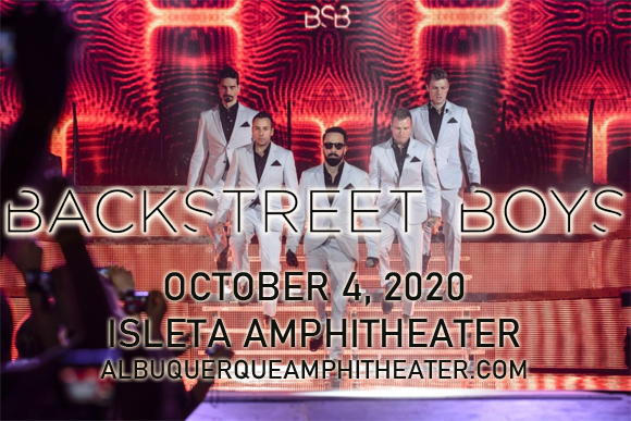 Backstreet Boys at Isleta Amphitheater
