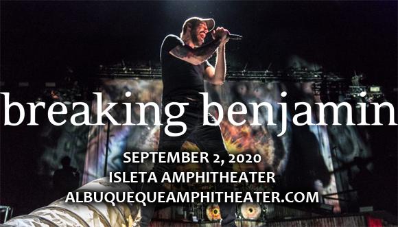 Breaking Benjamin & Bush [CANCELLED] at Isleta Amphitheater
