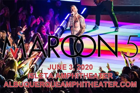 Maroon 5 & Meghan Trainor [POSTPONED] at Isleta Amphitheater