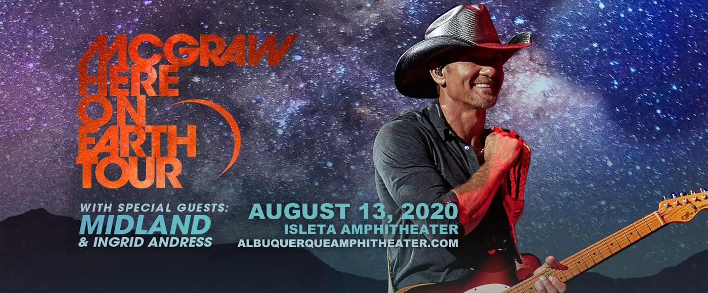 Tim McGraw [CANCELLED] at Isleta Amphitheater