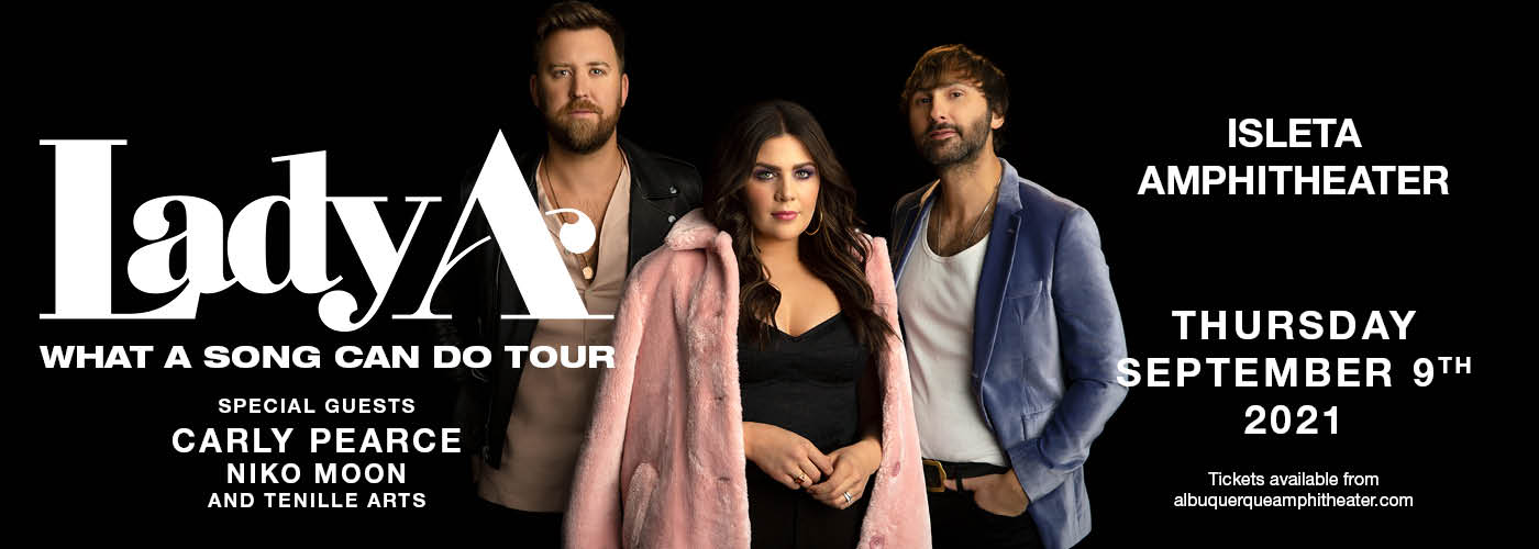 Lady A: What A Song Can Do Tour at Isleta Amphitheater