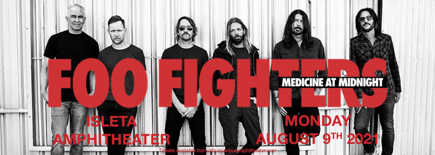 Foo Fighters at Isleta Amphitheater