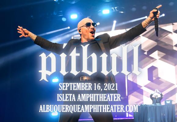 Pitbull at Isleta Amphitheater